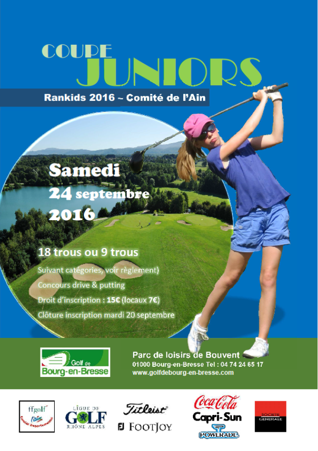 Coupe juniors Affcihe 2016